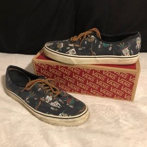 Authentic Vans Low top Desert Tribe Size 12